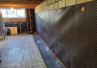 Interior leak repair