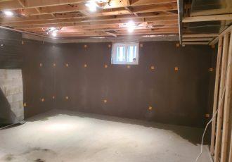 Waterproofing from inside