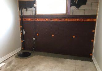 Interior waterproofing with sump