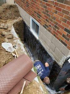 Exterior waterproofing toronto