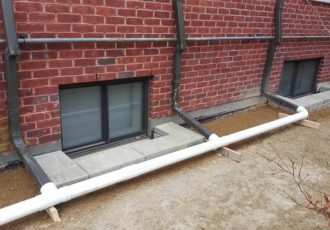 Connect you downspout to your french drain