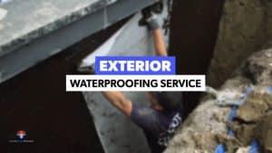 exterior waterproofing cost