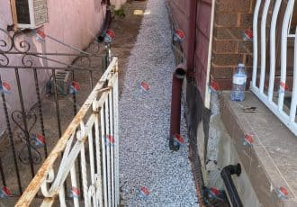 FINISHED WATERPROOFING