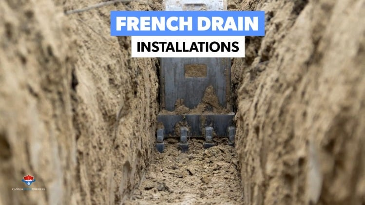 Interior water management systems are a great way to deal with ground water & hydrostatic pressure.