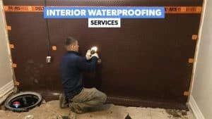 INTERIOR WATERPROOFING TORONTO