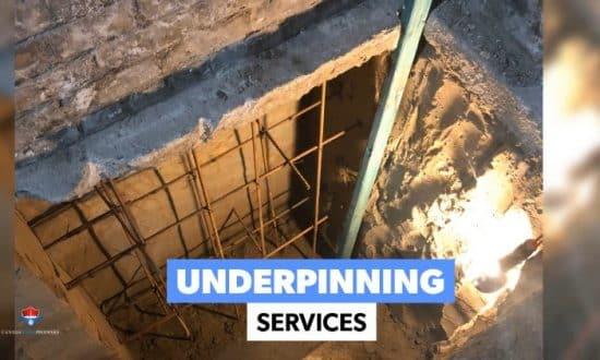Underpinning Services Toronto
