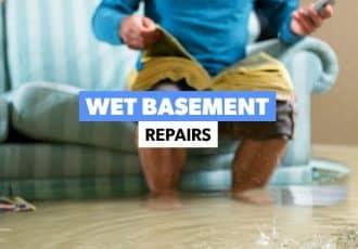 Wet Basement repairs
